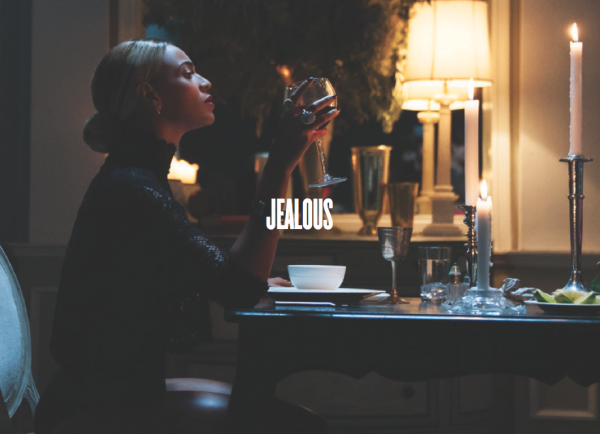 "Single cover for ""Jealous"" on BEYONCÉ"