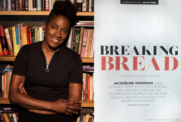Jacqueline Woodson for Essence Magazine 2019